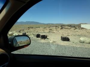 It looks like a real desert!
